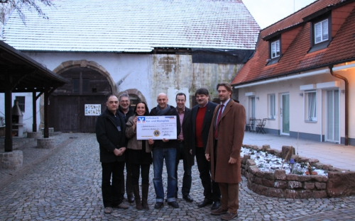 Übergabe Spende an Kinderhospiz Sterntaler 2013
