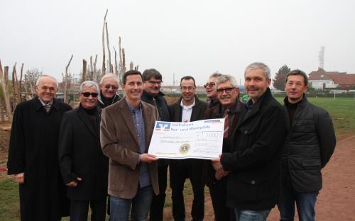 Spendenübergabe Gottlieb Wenz Schule 2015